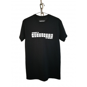 Henchmode 'emboss black cotton t-shirt